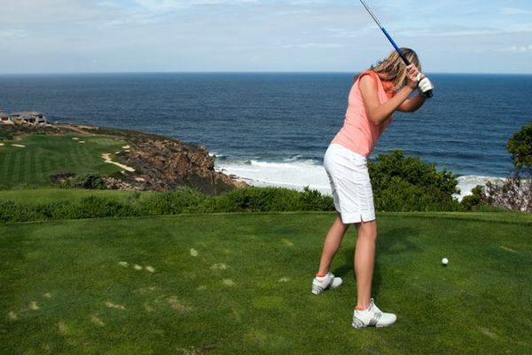 Golfen Am Meer An Der Garden Route
