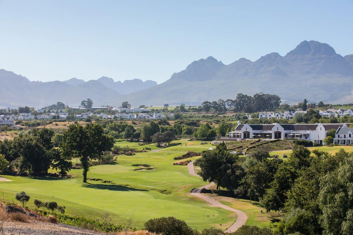 De Zalze Golfplatz Stellenbosch