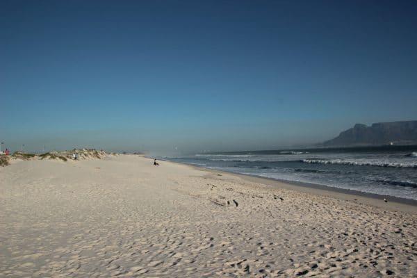 Bloubergstrand Beach Sandstrand