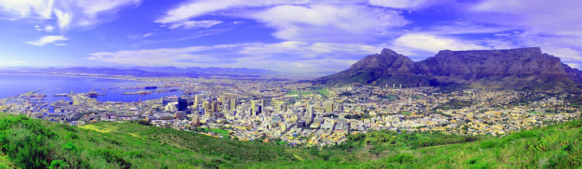 Suedafrika Kapstadt Tafelberg Panorama Header