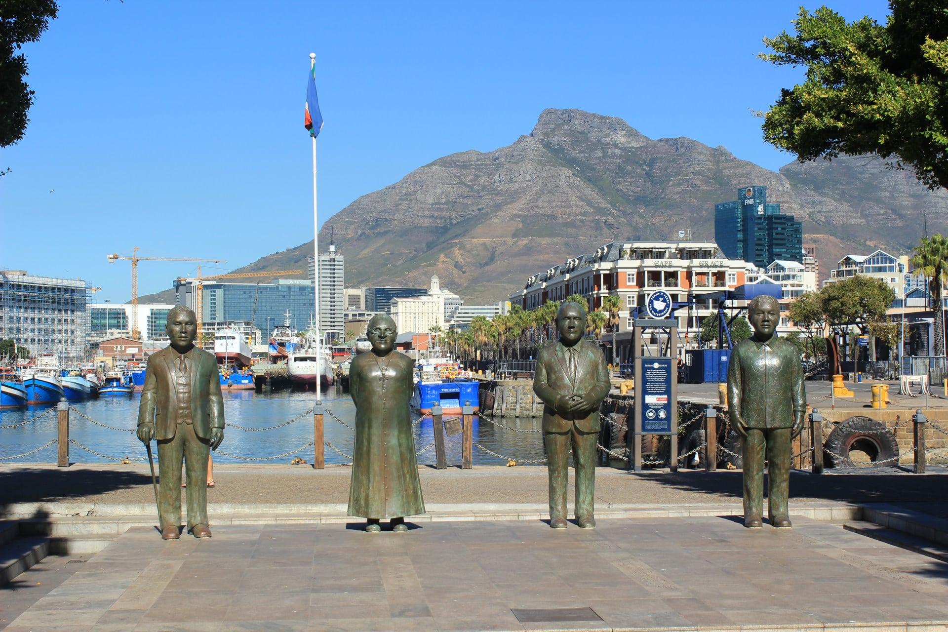 Nelson Mandela Nobel Square Kapstadt