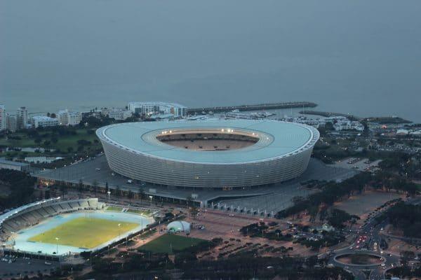 Kapstadt WM Stadion Zum Sonnenuntergang