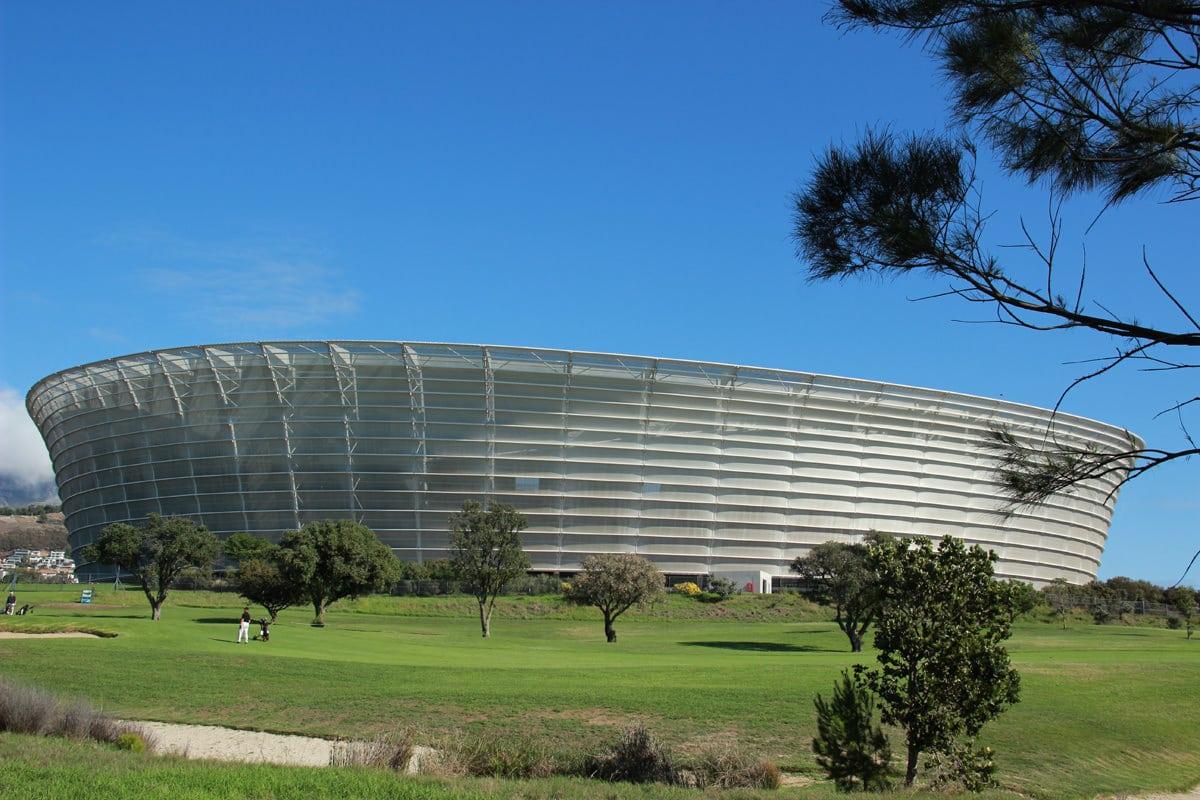 Kapstadt WM Stadion neben Golfplatz