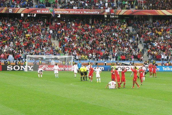 Portugal Spiel Zur WM 2010 Südafrika