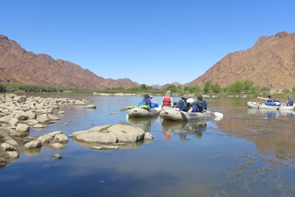 Orange River Rafting-Pause