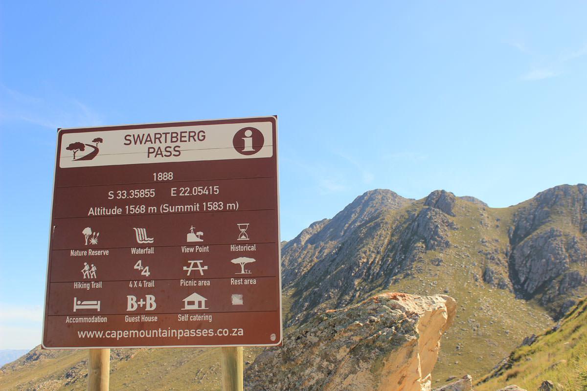Swartberg Pass Impressionen der Klein Karoo