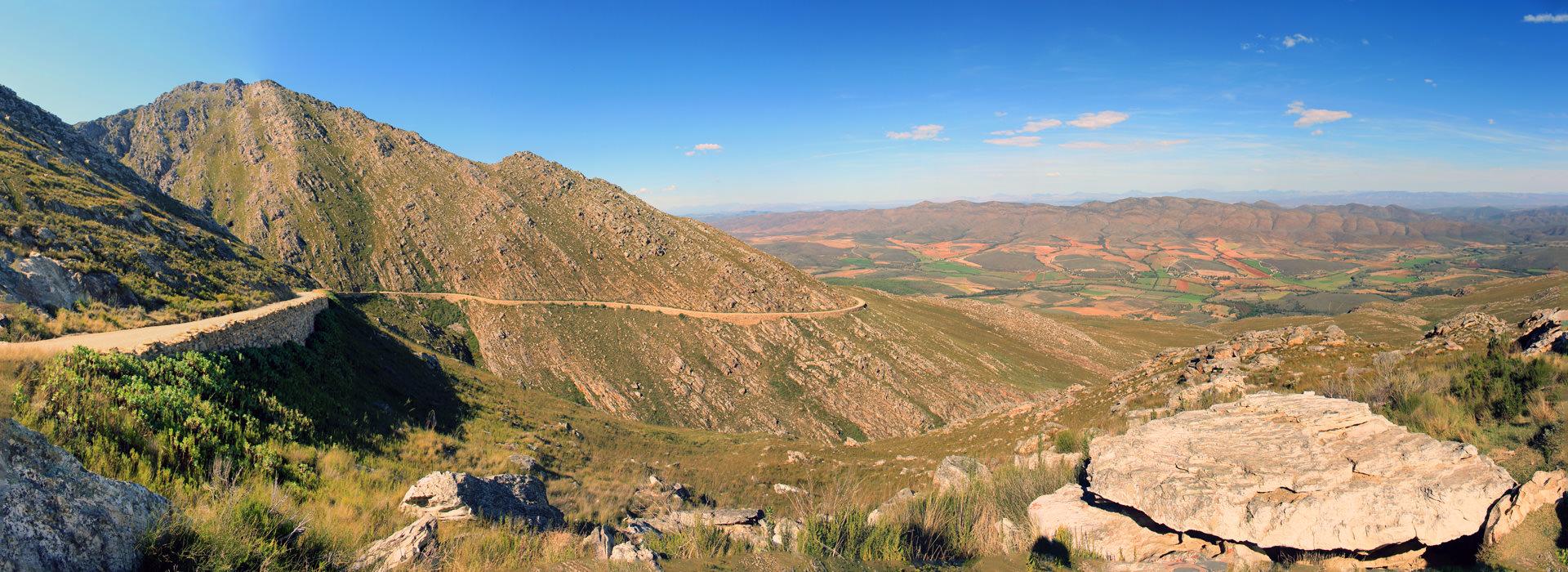 Einer Der Schönsten Bergpässe Südafrikas