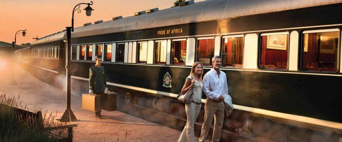 Zugreisen Südafrika