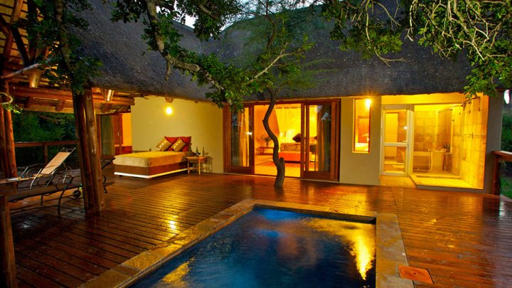 Elephant Plains Honeymoon Suite Mit Pool