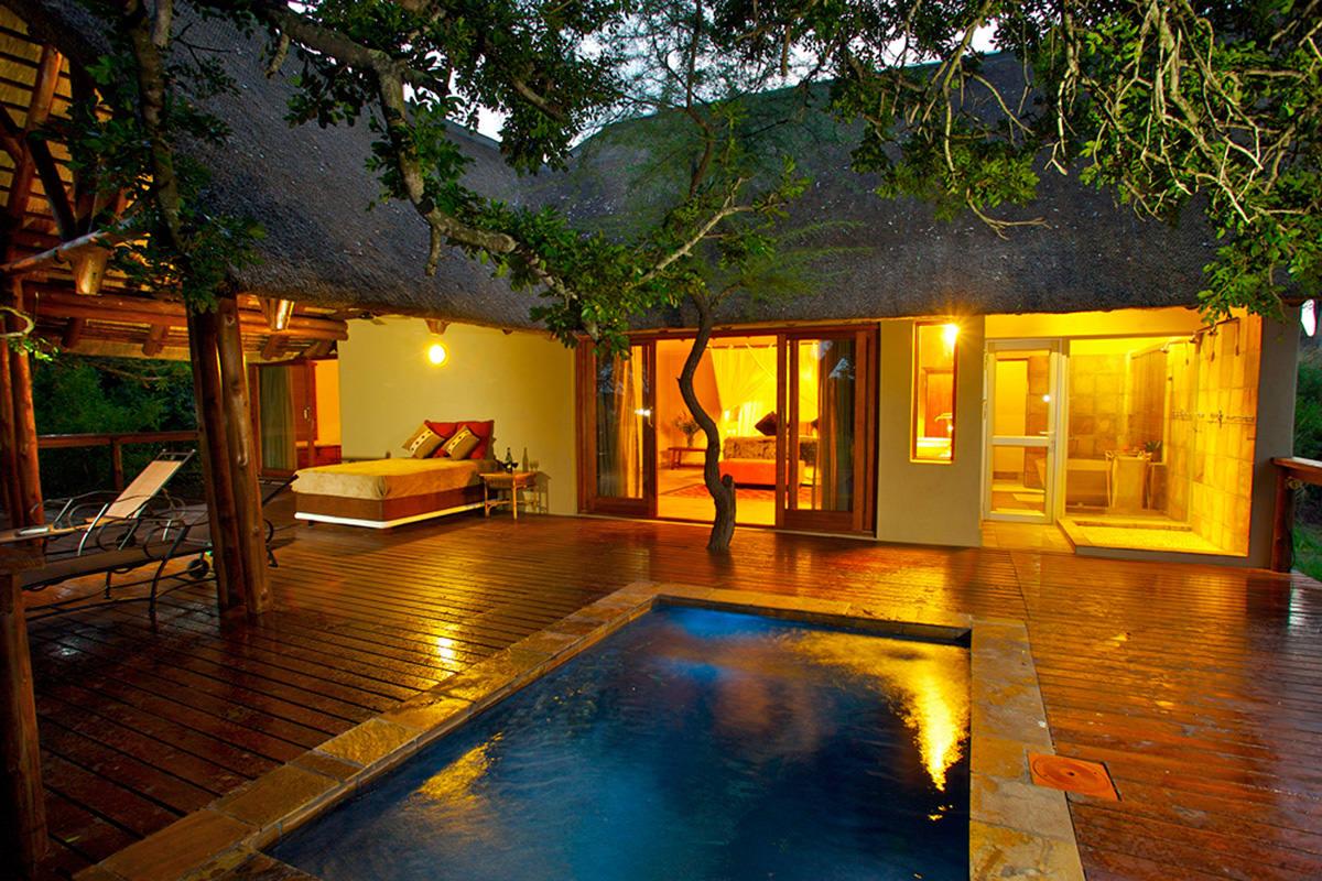 Elephant Plains Honeymoon Suite mit Pool
