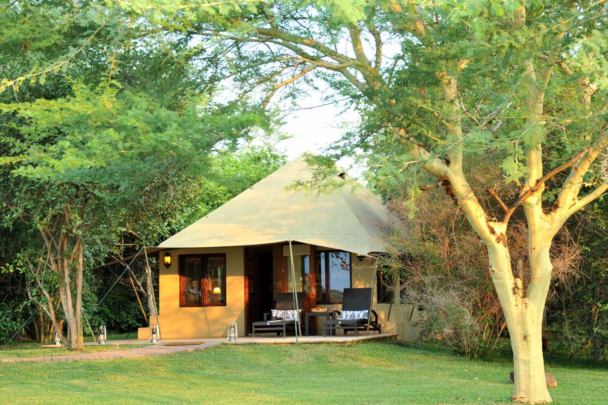 Savanna Lodge Zelt Von Außen