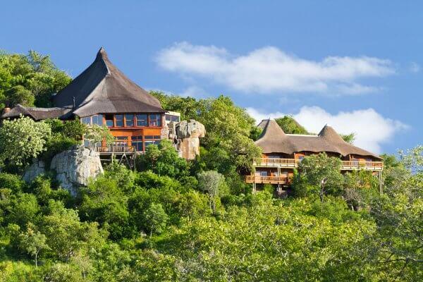 Ulusaba Rock Lodge Von Oben
