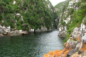 Storms River Mouth Im Tsitsikamma Nationalpark