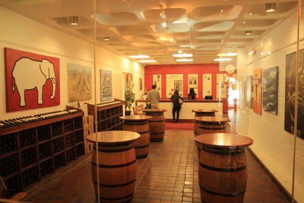 Groot Constantia Weinverkostung