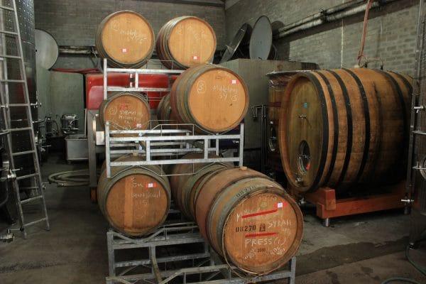 Reyneke Lagerung Weinfässer