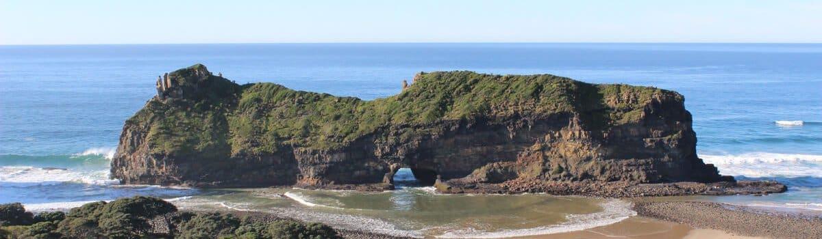 Suedafrika Wild Coast Hole In The Wall