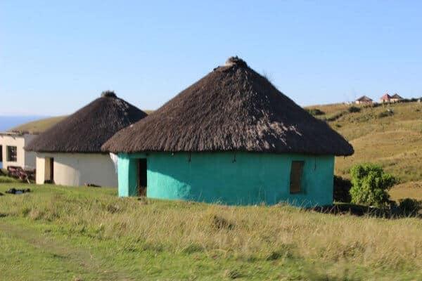 Hütten Eines Xhosa Dorfs