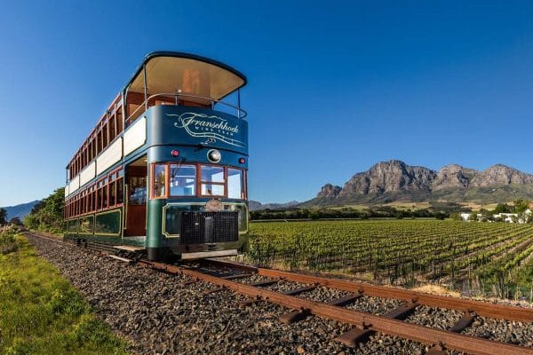 Winetram In Franschoek