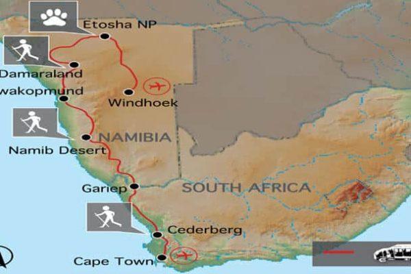 Desert Safari Erlebnisreise Namibia