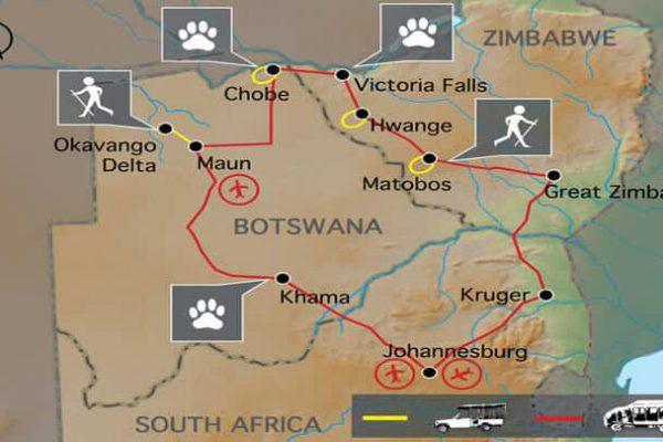 Game Tracker Erlebnisreise Südliches Afrika