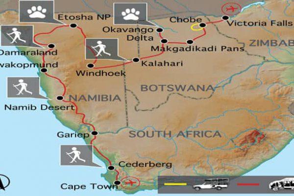 Grand Explorer Erlebnisreise Südliches Afrika