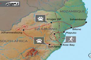 Mosambik & Krüger Safari