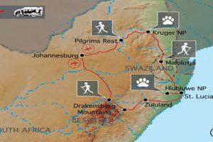 Wandern Südafrika