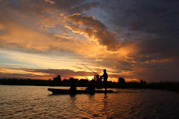 Sunway Botswana Okavango Delta Sunset