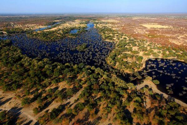 Botswana Okavango Delta Flight