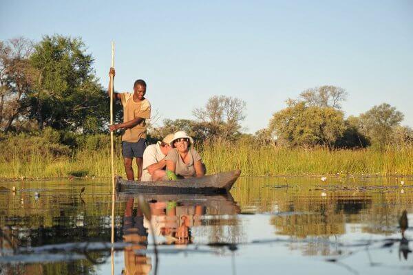Sunway Botswana Okavango Mokoro 3 Sunset