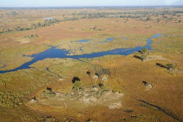 Sunway Botswana Okavango Scenic Flight