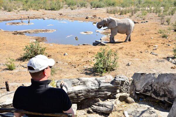 Sunway Namibia Etosha Halali Waterhole