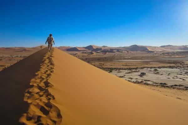 Dünenausblick Namibia