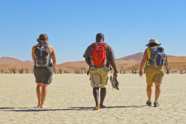 Wanderung In Sossusvlei