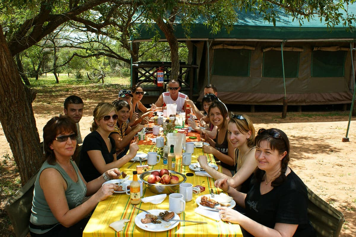 Lunch In South Africa