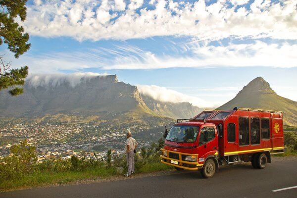 Sunway South Africa Table Mountain Truck