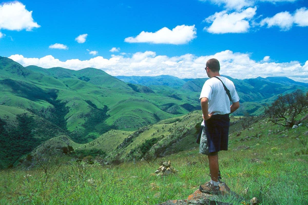 Sunway Swaziland Malalotja Aussicht Grün Blau