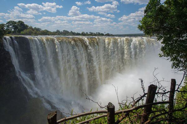 Victoria Falls Zu Fuß Entdecken